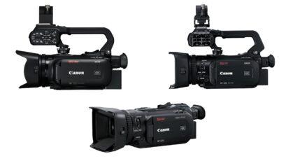 Canon XA40, XA50, XA55 and LEGRIA HF G50, HF G60 Camcorders Announced