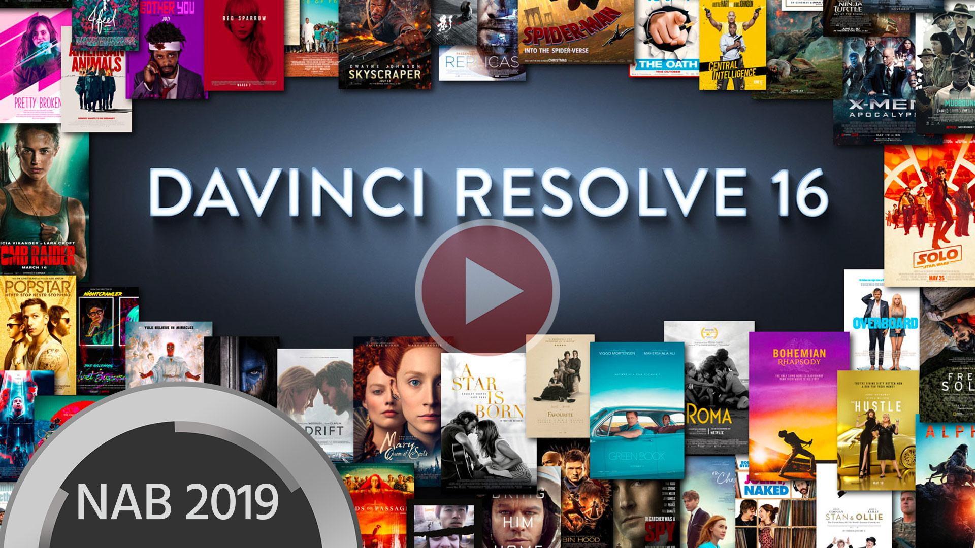DaVinci Resolve 16 de Blackmagic Design - Primera demostración de sus funciones