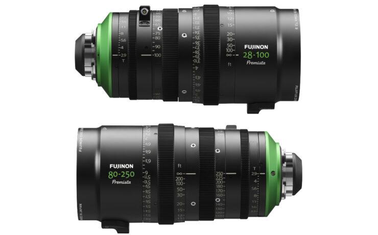 FUJINON Premista - Two New Large Format Cine Zoom Lenses Announced