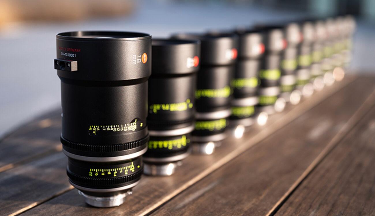Full LEITZ PRIME Set and Two LEITZ ZOOM Lenses Announced