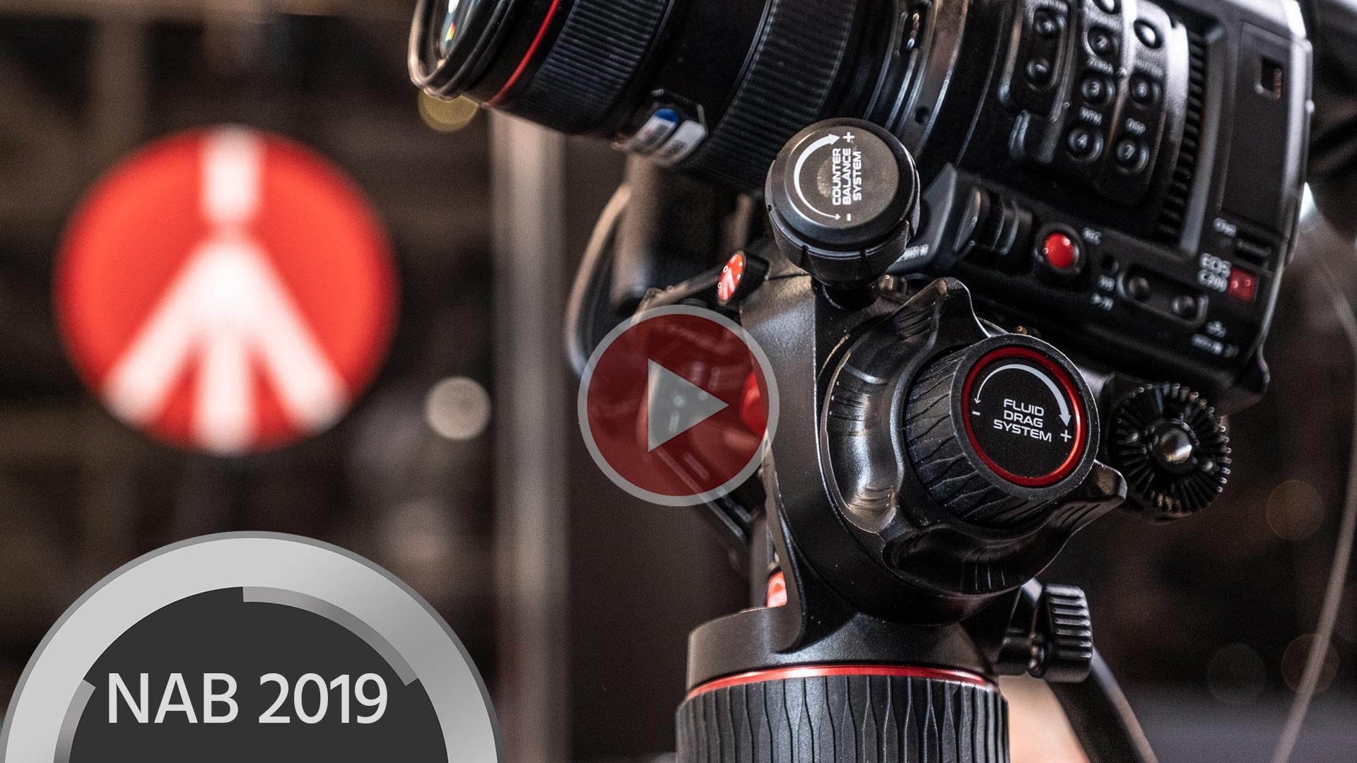 Manfrotto lanza nuevos cabezales fluidos de video - Nitrotech 608 y 612