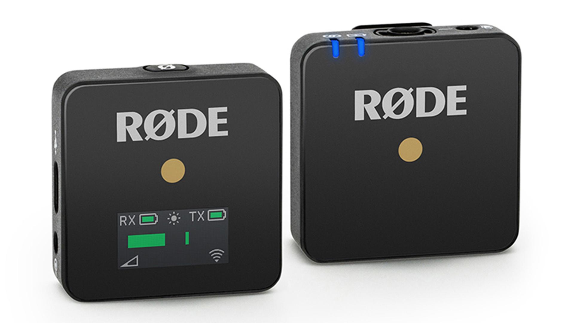 RØDE Wireless Go - 超小型ワイヤレスマイクロホンシステム