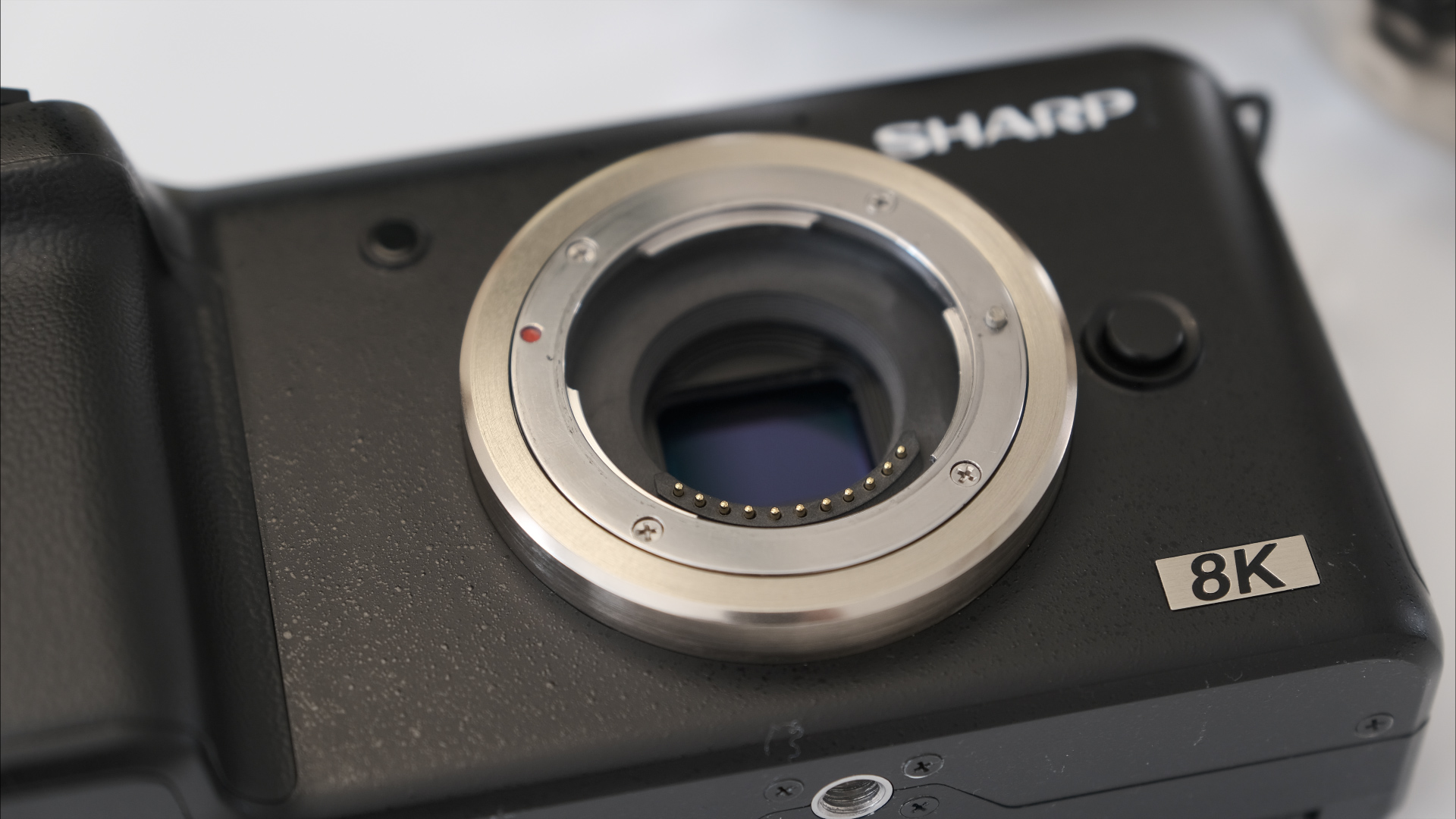 Sharp 8K Micro Four Thirds Camera - Prototype First Look and