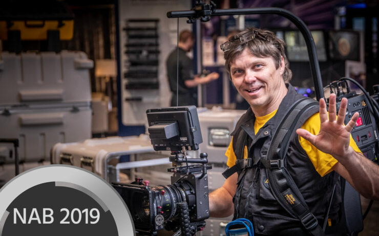 Easyrig Flow Arm and Sony VENICE Extension Mount Announced