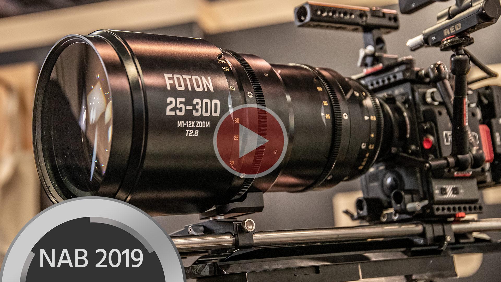 Zoom de Cine Foton 25-300mm T2.8 – aún no está listo para su estreno