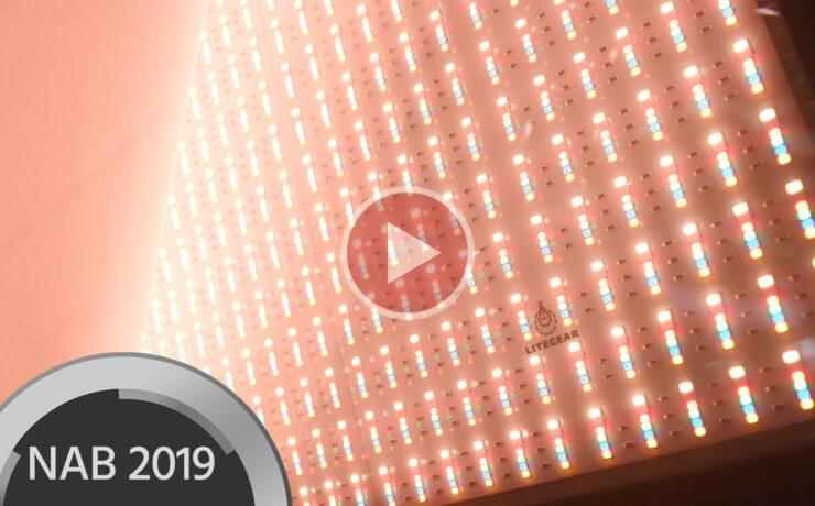 LiteGear LiteMat Spectrum LED Panel Announced