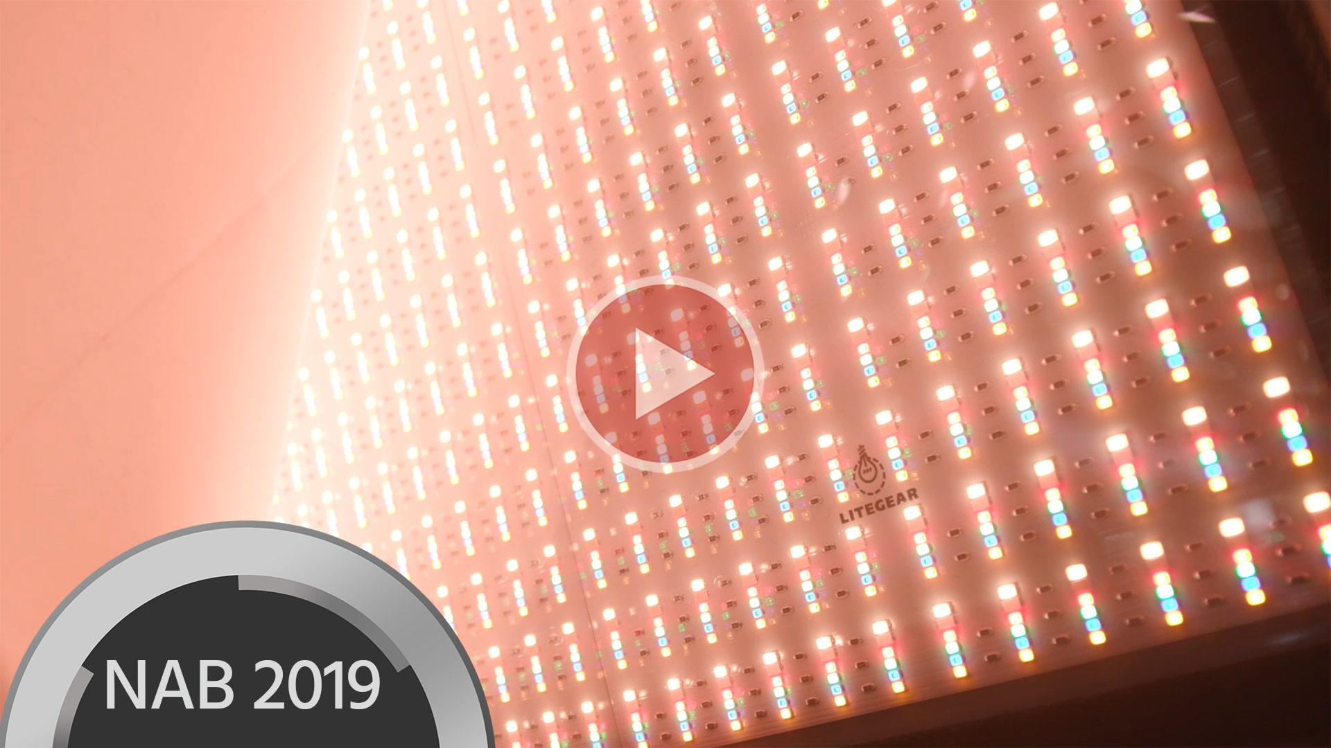 Anuncian el Panel LED LiteMat Spectrum de LiteGear