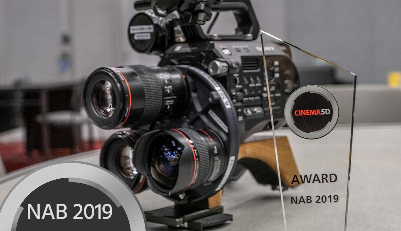 cinema5D NAB 2019 Best-of-Show Awards -Multi Turret, Bolt 4K, Zylight, Slypod, CineEye