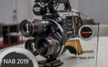 cinema5D NAB 2019 Best-of-Show Awards - Multi Turret, Bolt 4K, Zylight, Slypod, CineEye