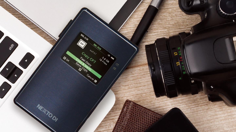 NEXTO DI NPS-10 – anuncian almacenamiento de backup compacto y portátil