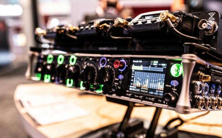 Sound Devices Launches Scorpio 32 Channel Mixer/Track Recorder