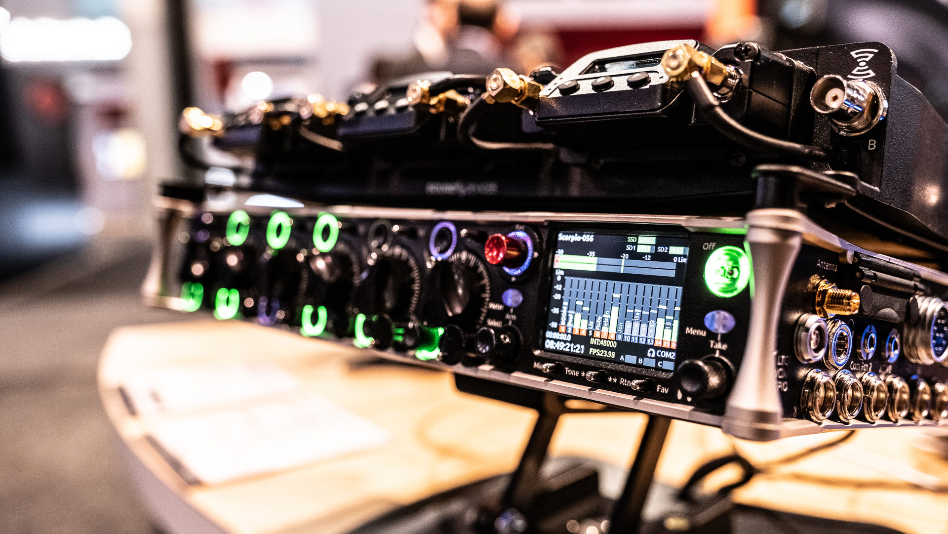 Sound Devices lanza el Mezclador de Audio/Grabador de Pistas Scorpio 32