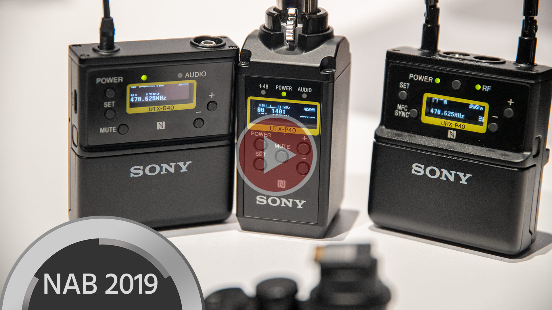 Sony's New UWP-D Line Wireless System - Hands-on