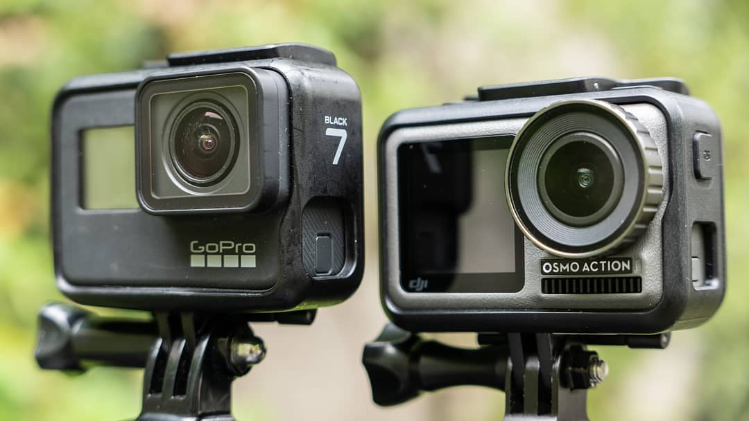 DJI Osmo Action vs GoPro HERO7比較レビュー