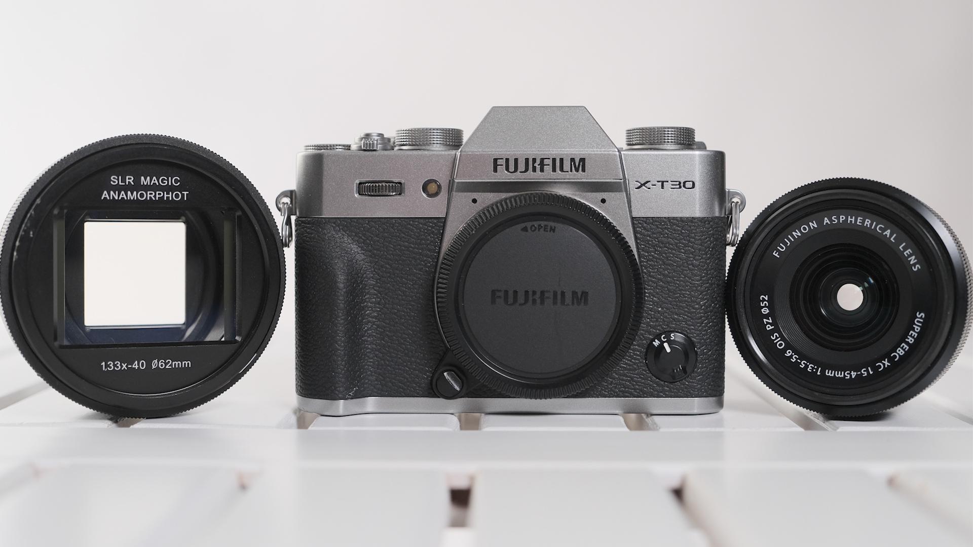 Anamórfico, asequible: Reseñamos la FUJIFILM X-T30 y el SLR Magic Anamorphot-40 1.33x