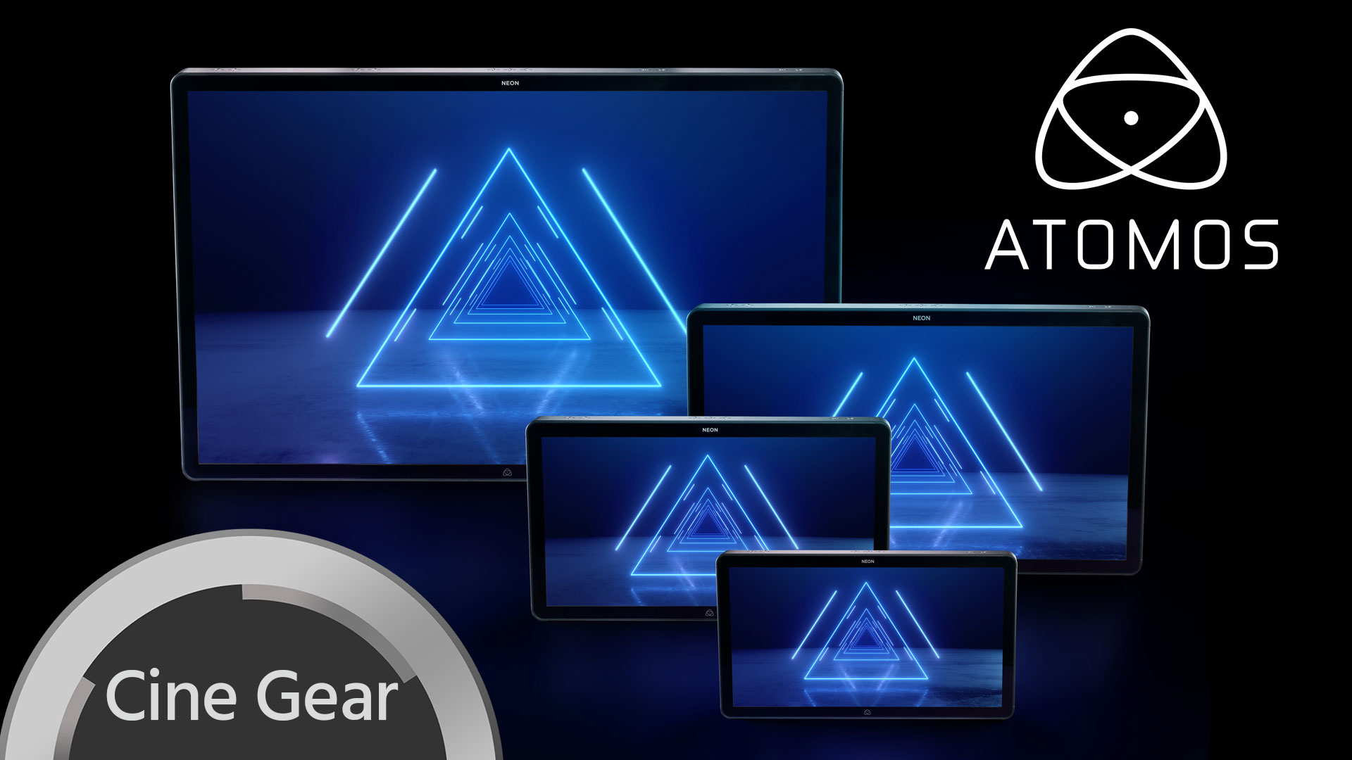 Monitor Atomos Neon Cinema – Anuncian Pantallas HDR grabadoras