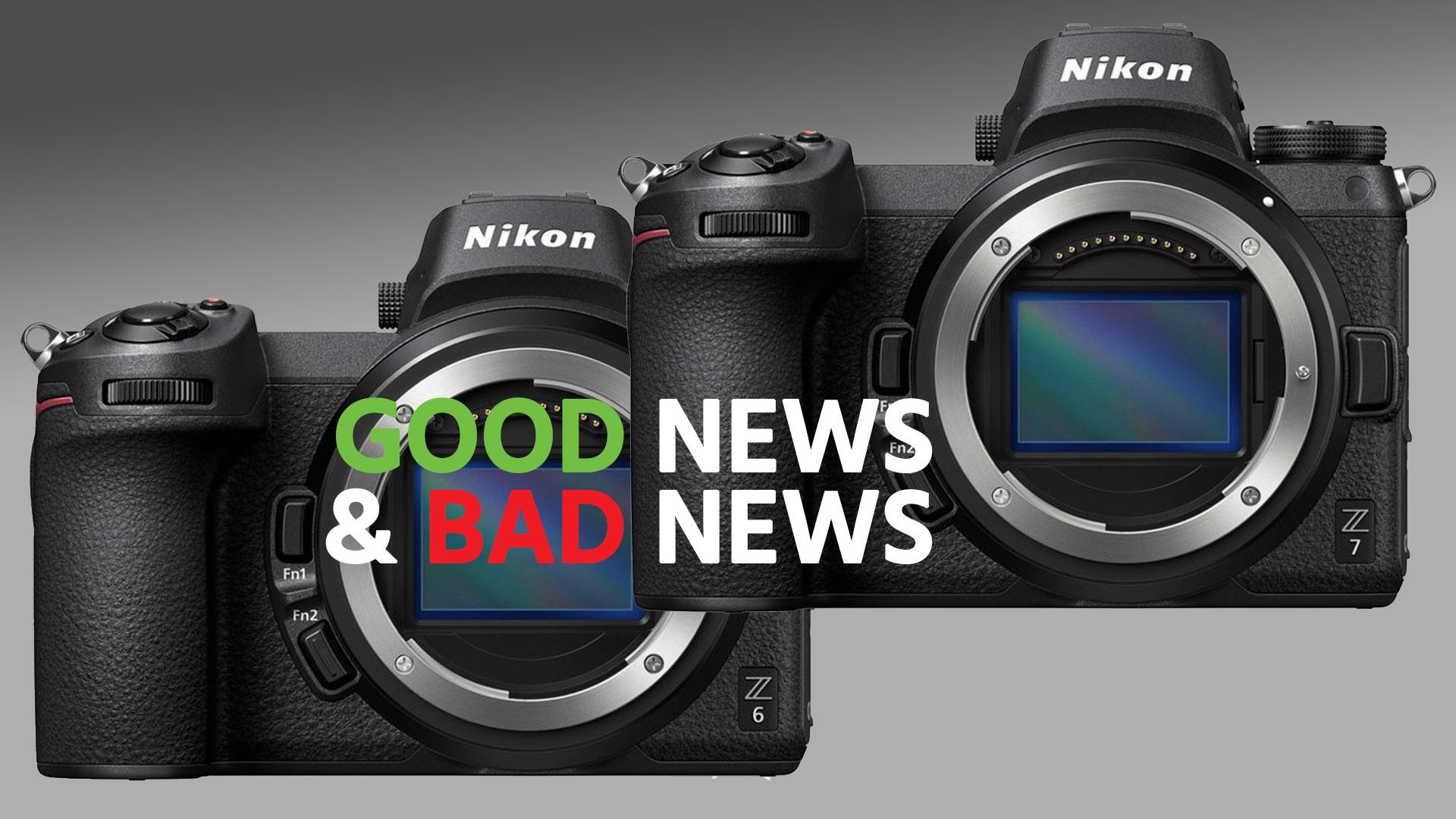 Las Nikon Z 6 y Z 7 reciben Firmware 2.0, algunas fueron retiradas debido a un problema con la Reducción de Vibración