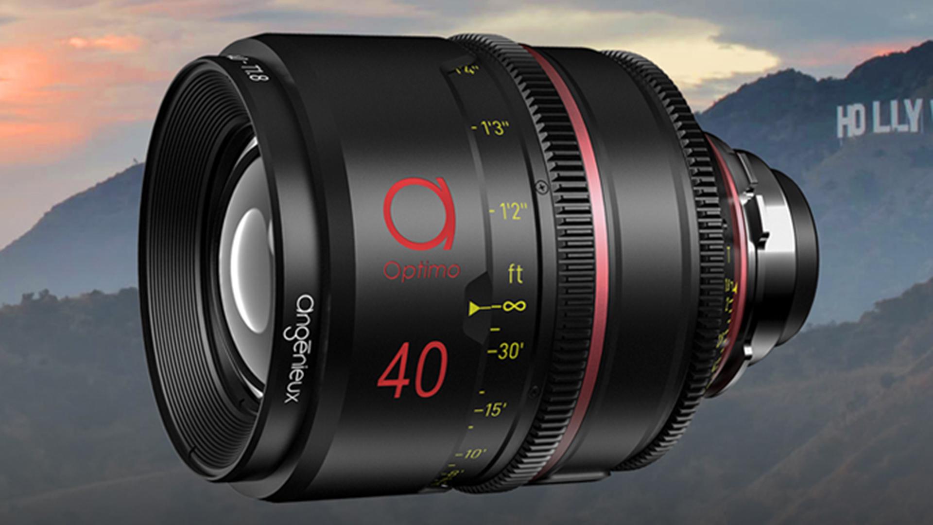 アンジェニューがOptimo Primeを発表 - 12本のフルフレーム対応単焦点レンズ