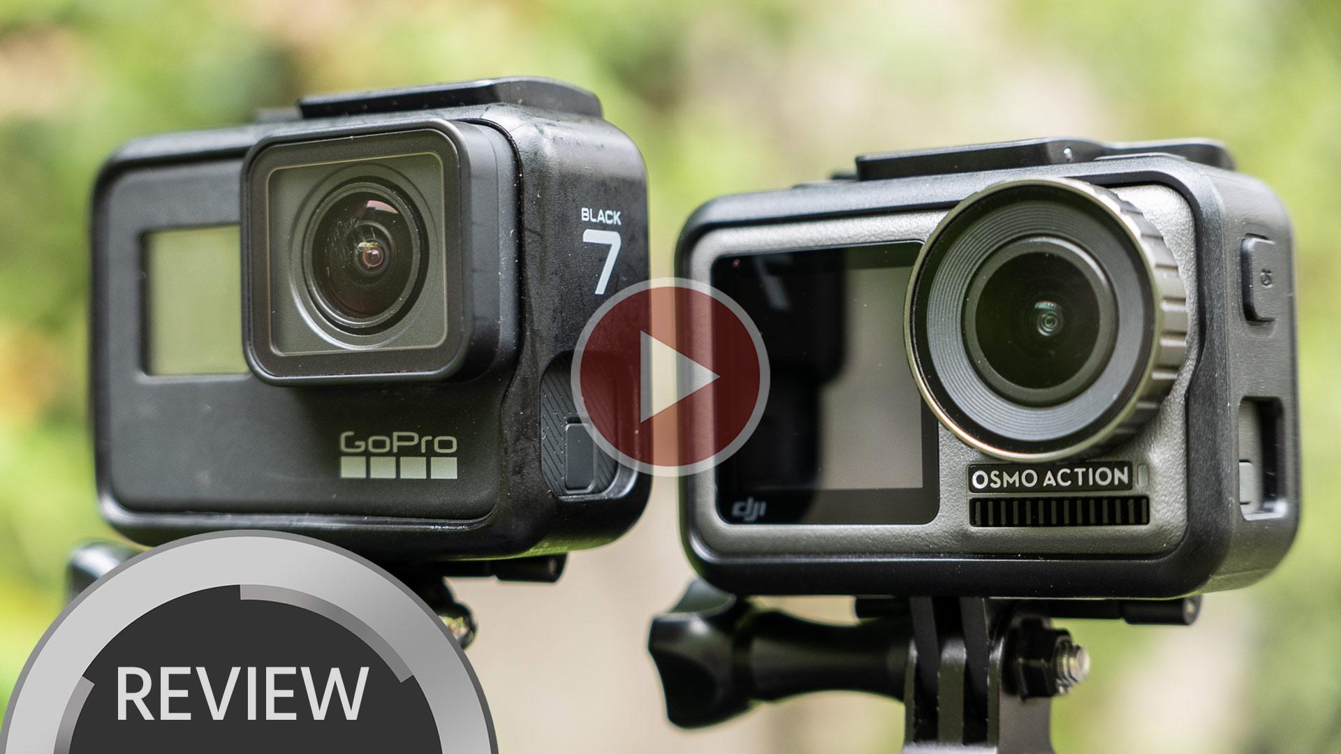 DJI Osmo Action Versus GoPro HERO7 – ¿Destronan al rey de las cámaras de acción?