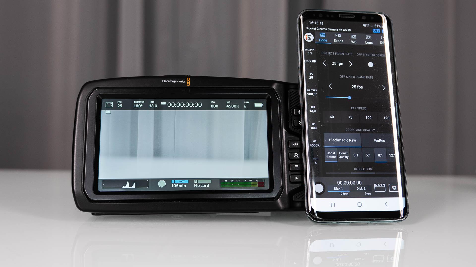 BMPCC4K Controller – una aplicación de Android que controla la mayoría de las funciones de la cámara Pocket 4K