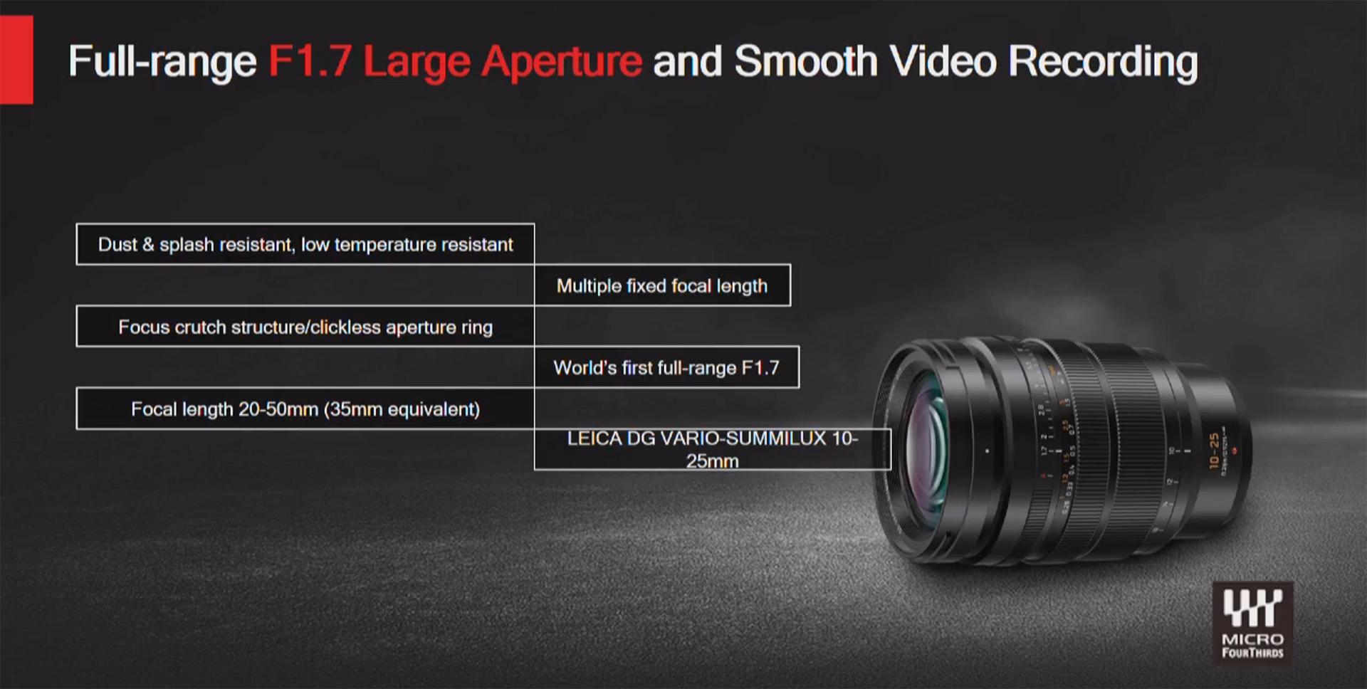 Panasonic S1 Firmware Update, LUMIX S Teleconverters and 10-25mm F