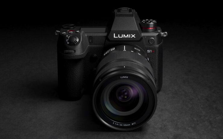 Panasonic LUMIX S1H Announced - 6K, Full-Frame, 10Bit Video and More