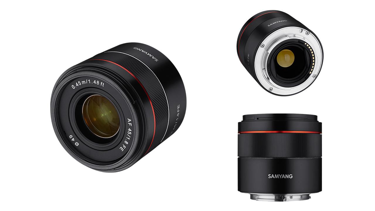 Samyang(サムヤン)が AF 45mm f/1.8 FEを発表