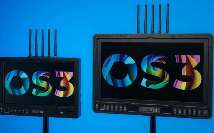 SmallHD 1303 HDR and 1703 P3X Bolt Sidekick - Wireless Production Monitors