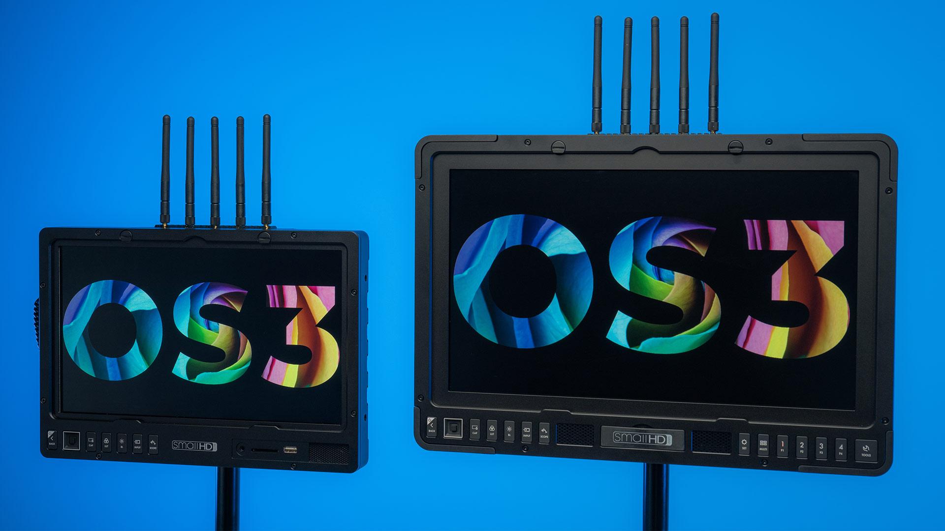 SmallHD 1303 HDR y 1703 P3X Bolt Sidekick - Monitores de producción inalámbricos