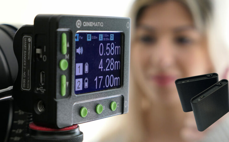 Qinematiq Smart Ranger 2 - Precise Distance Measurement for up to 3 Subjects