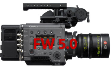 Sony VENICE Firmware 5.0 Announced – New HFR Modes up to 6K 90fps