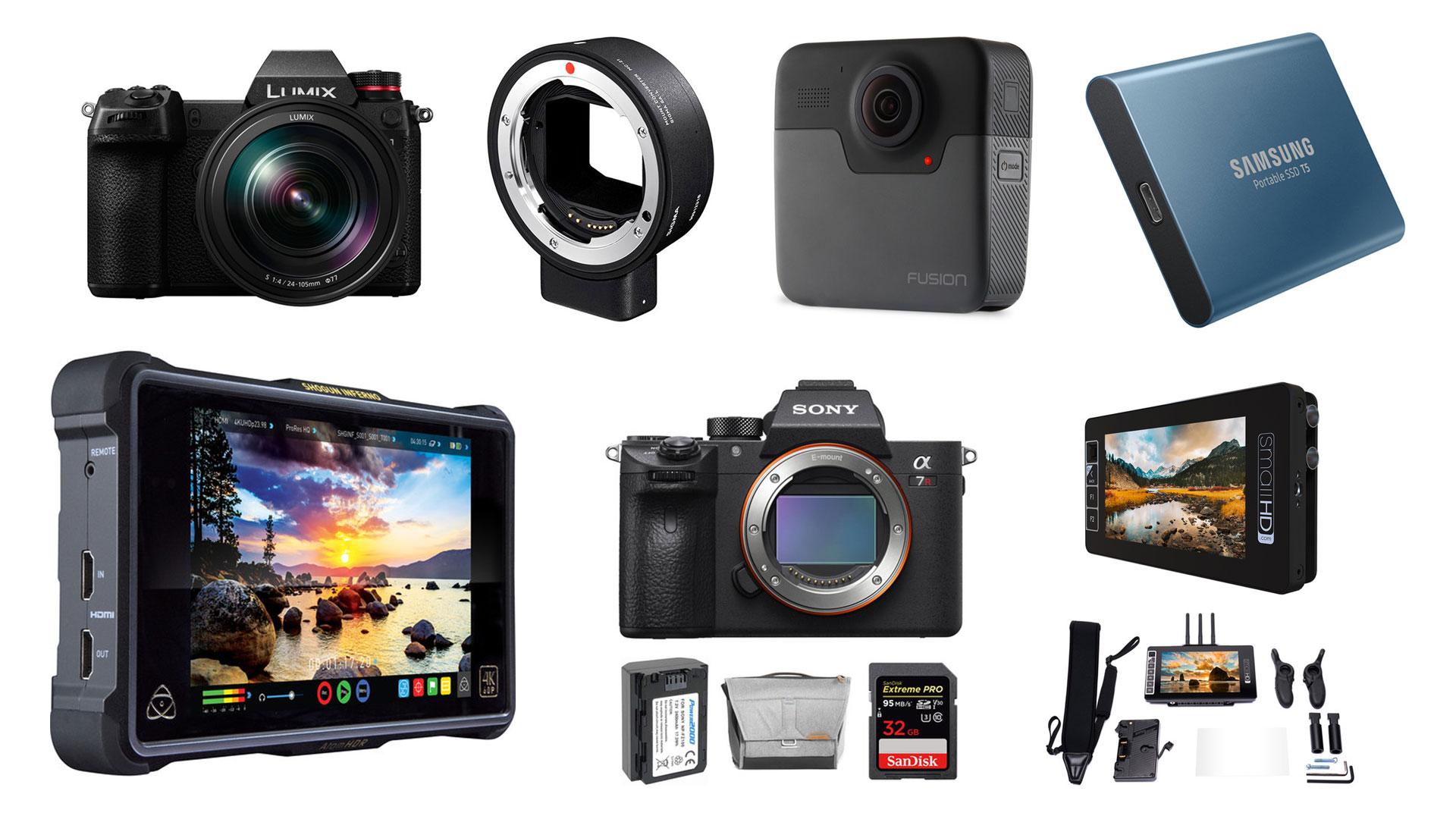 Las mejores ofertas en productos de filmación de la semana, de Sony, SmallHD, GoPro, Atomos, Samsung y más