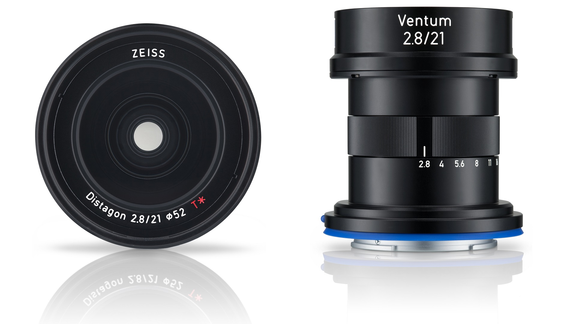 ZEISS Ventum 2.8/21 - Lightweight Industrial E-Mount Lens for Aerial Use