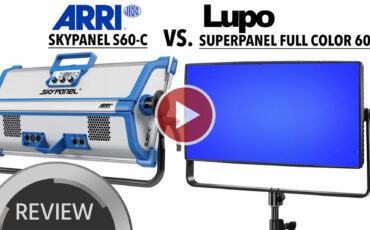 ARRI Skypanel S60-C vs. Lupo Superpanel Full Color 60 Comparison Review