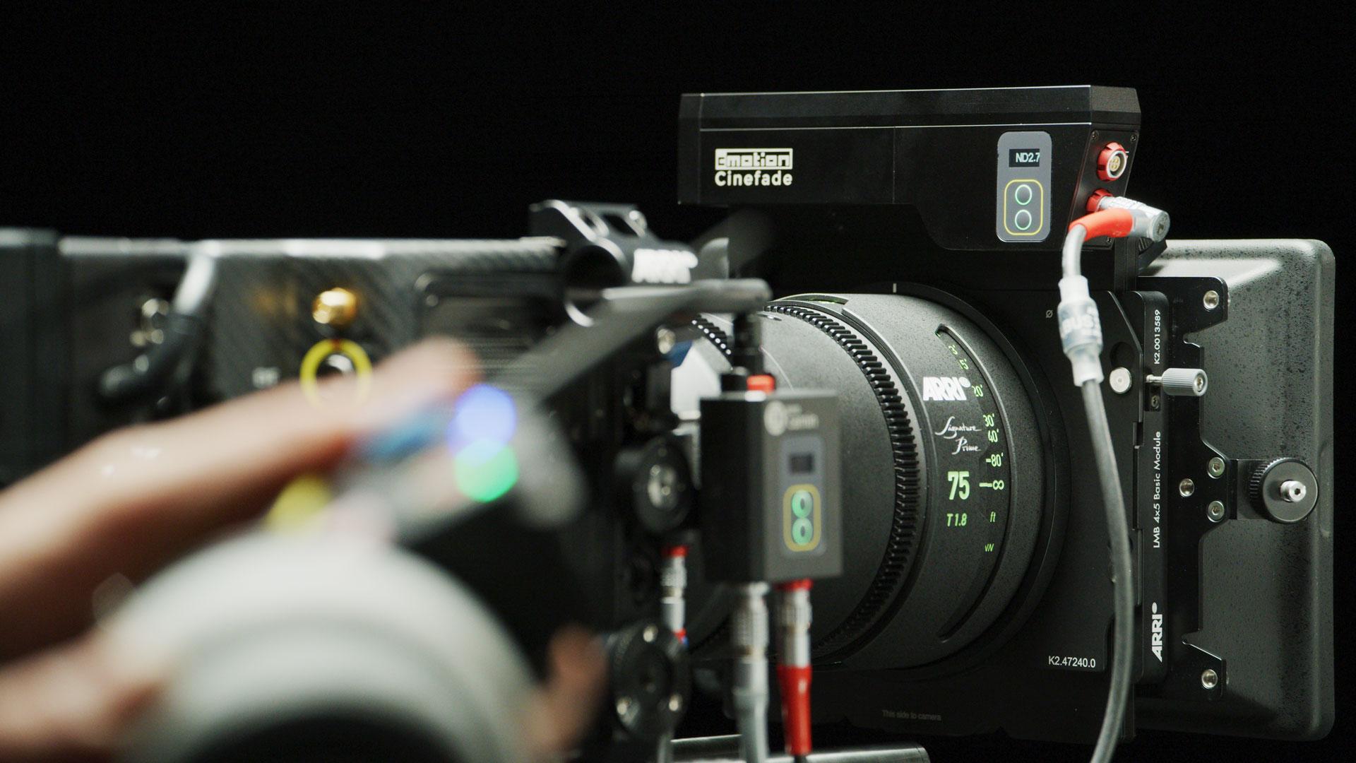 Sistema Cinefade VariND de cmotion ya está listo para la compra