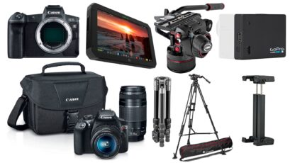 Top Deals for Filmmakers – $1000 Off Atomos SUMO, Discounts on Canon EOS R, Manfrotto Nitrotech and More