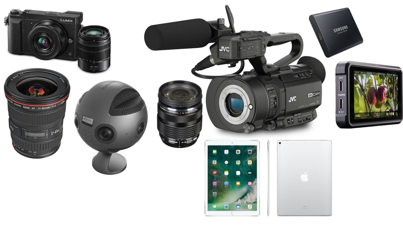 This Week's Top Deals for Filmmakers – Sony a7R II and a7R III, LUMIX GX85, Canon Lens, Insta360 Pro and More