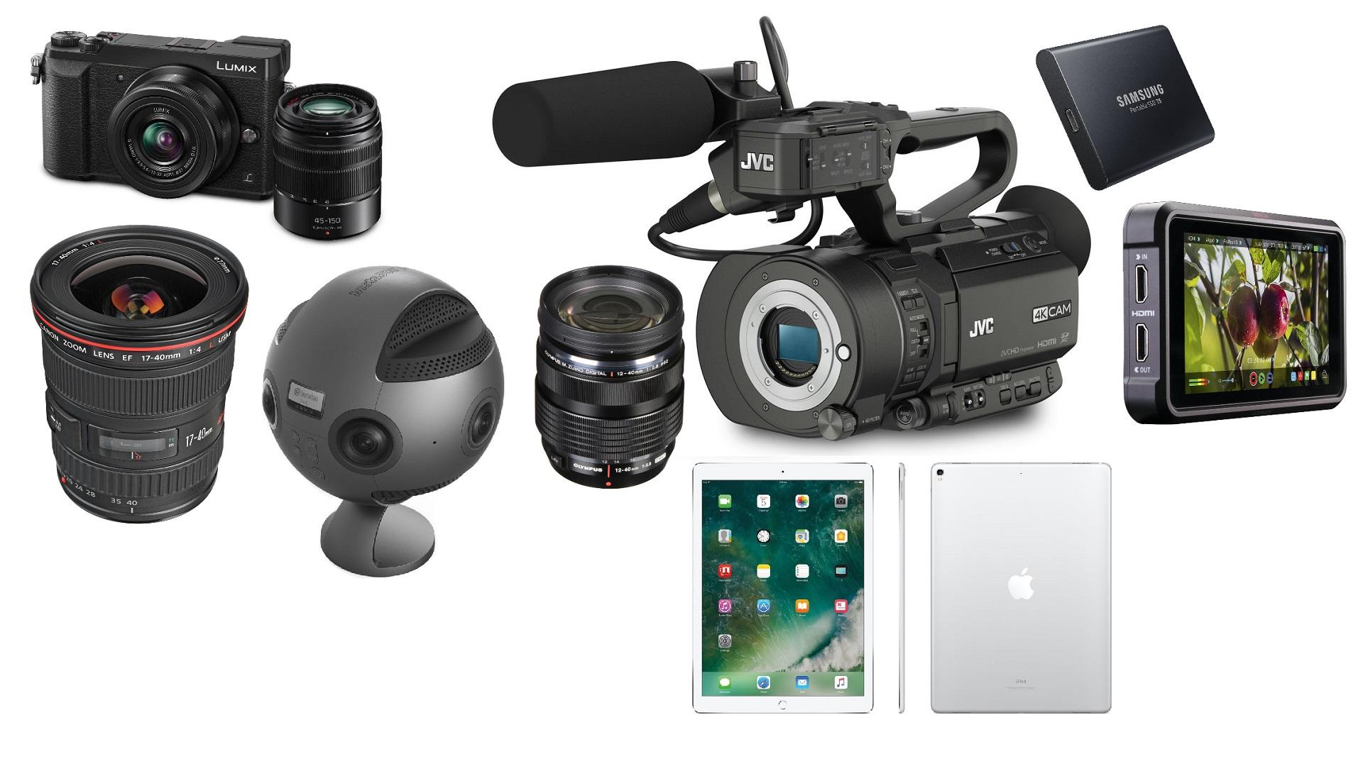 Las mejores ofertas de esta semana para cineastas: Sony a7R II y a7R III, LUMIX GX85, lentes Canon, Insta360 Pro y más