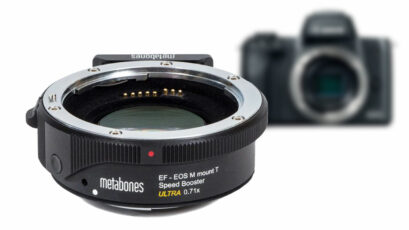 Full-Frame Look on EOS M – Metabones EF to EOS M Speed Booster ULTRA 0.71x