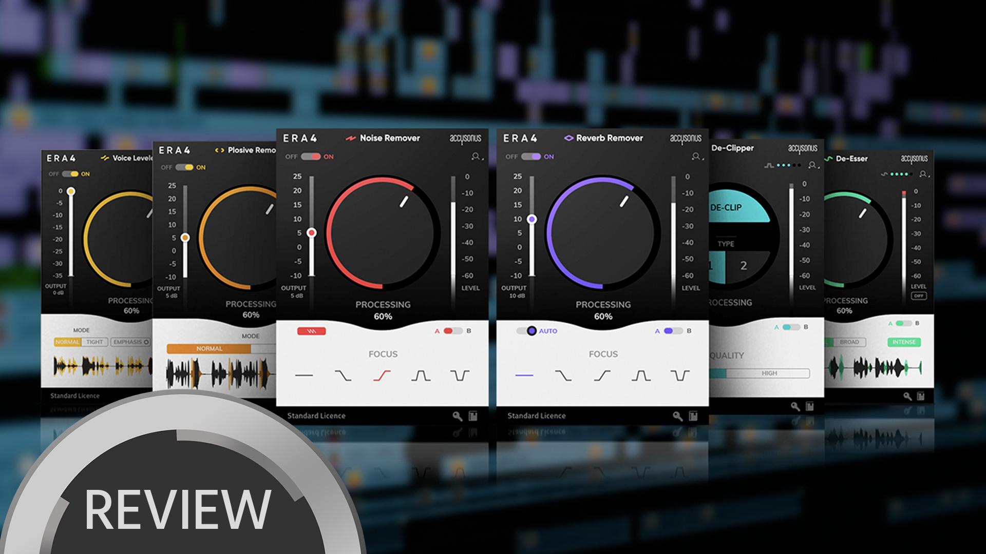 Accusonus ERA Bundle 4.0 - Plugins para una fácil reparación de audio - Reseña