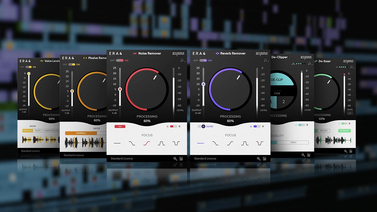 Accusonus ERA Bundle 4 0 – Easy Audio Fixing Plugins