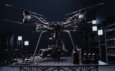 DJI STORM - High Payload Aerial Platform by DJI Studio