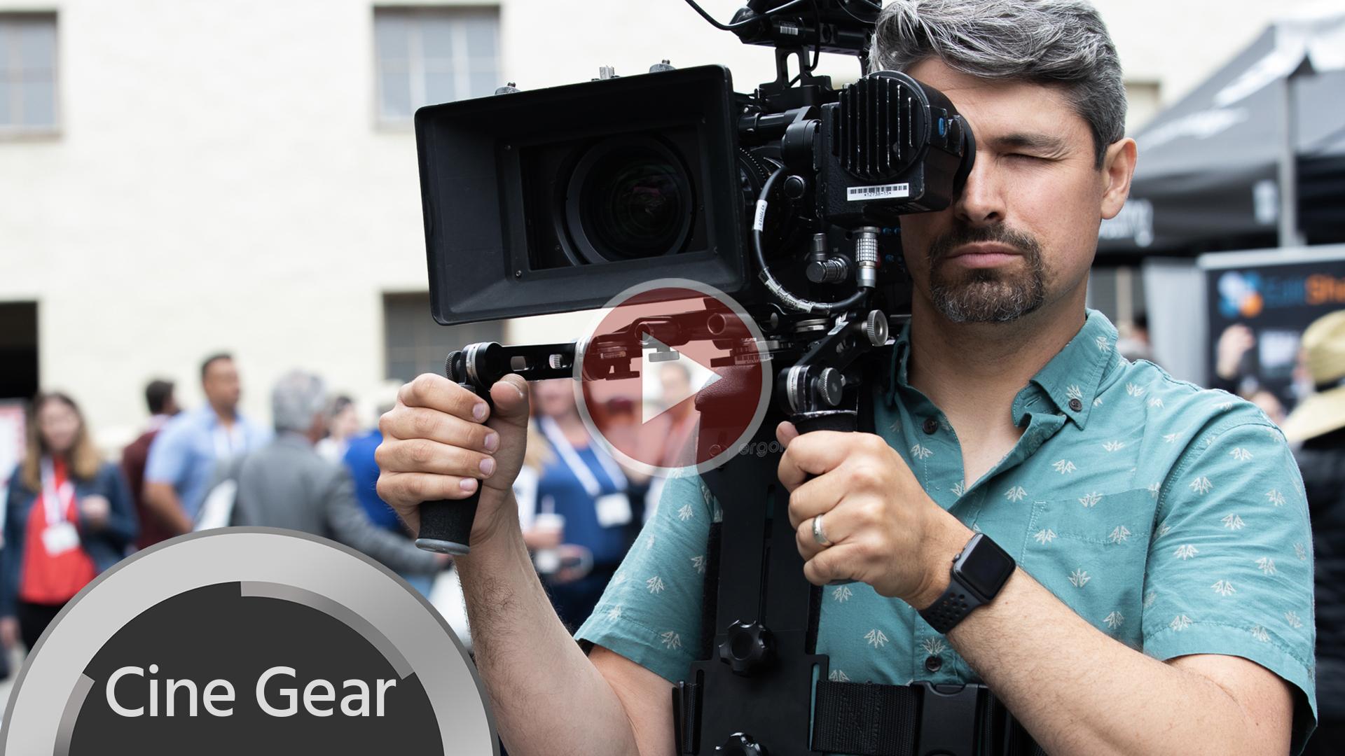 El Ergorig: un nuevo dispositivo para salvarle las espaldas a los operadores de cámara