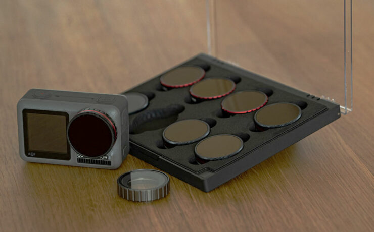 Freewell ND Filters for the DJI Osmo Action Camera