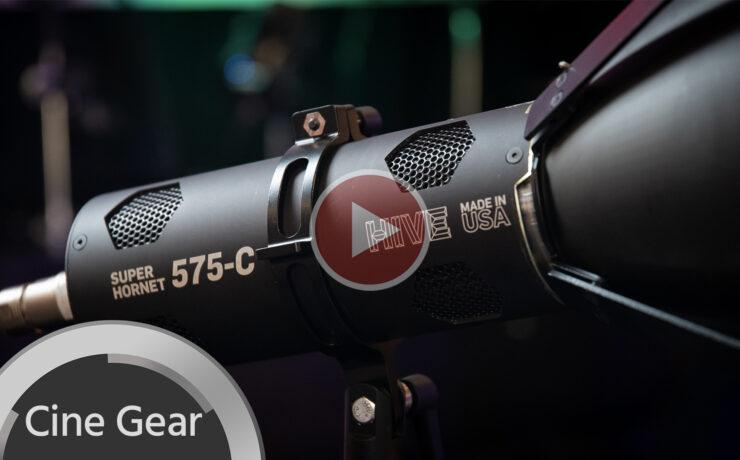 Hands on with Hive Super Hornet 575-C: Big Output Color Light Source