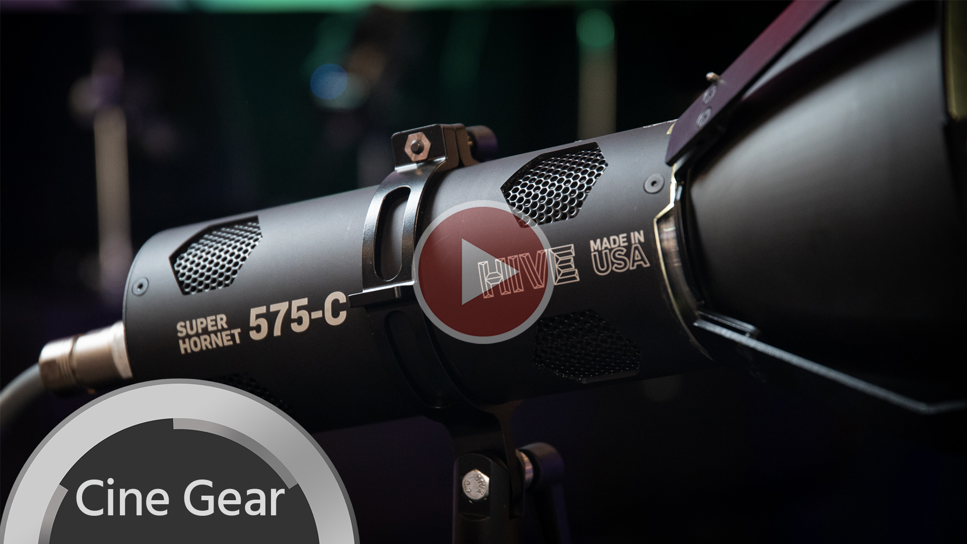Hive Super Hornet 575-C en nuestras manos – fuente de luz a color de alta potencia