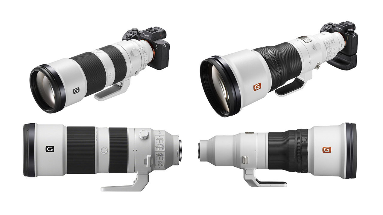 Sony Releases Two New Super Telephoto Lenses -SonyFE 200-600mm and FE 600mm