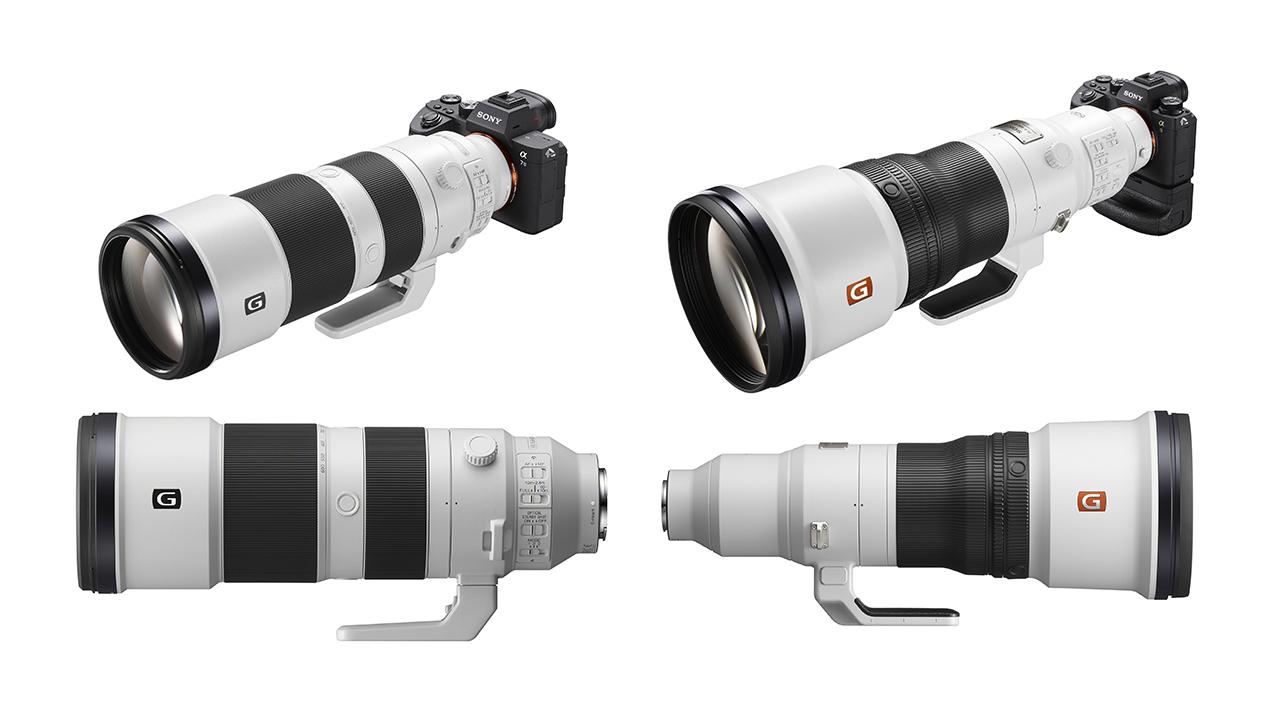 ソニーが2本の超望遠レンズを発売