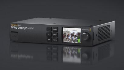 Blackmagic Design Announces Teranex Mini SDI to DisplayPort 8K HDR
