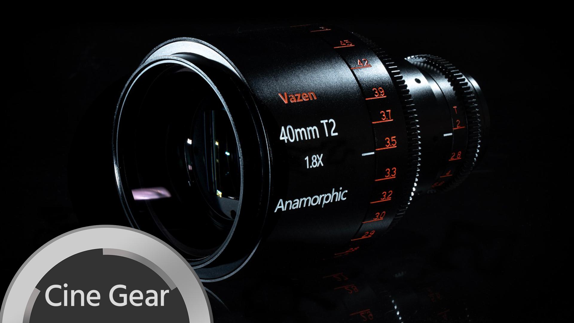 Vazen 1.8x anamórfico - 3 nuevos lentes para Micro Cuatro Tercios